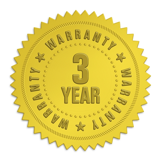 Brinsea 3-year warranty